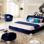 Luxus Bett Bett Luxus Bett Samtstoff Blau Lionsstar Gmbh 90x200 Weiß Mit Lattenrost Himmel Kopfteil 140 Tempur Betten Hohes Flach Günstig Kaufen 180x200 Bonprix Baza