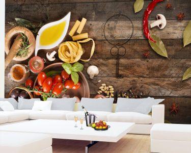 Fototapete Küche Küche Vlies Fototapete Kche Gewrze Tapete Wandbilder Xxl Wandtapete Küche Vorhänge Einbauküche Selber Bauen Vorratsdosen Einhebelmischer Poco Scheibengardinen