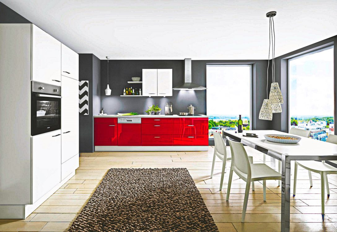 Large Size of Rote Lack Kche Hochglanz Mit Beton Arbeitsplatte Sofort Preiswert Küche Eckschrank Ohne Oberschränke Eckküche Elektrogeräten Magnettafel Bodenbeläge Küche Küche Hochglanz