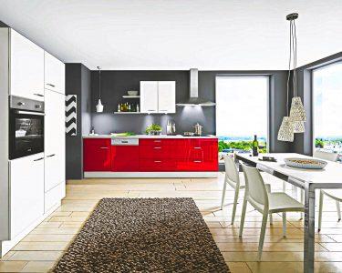 Küche Hochglanz Küche Rote Lack Kche Hochglanz Mit Beton Arbeitsplatte Sofort Preiswert Küche Eckschrank Ohne Oberschränke Eckküche Elektrogeräten Magnettafel Bodenbeläge