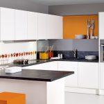 U Form Küche Küche Ihre Perfekte Kche Grifflos In U Form Doppelblock Küche Modulares Sofa Einbau Mülleimer Müllschrank Schlafzimmer Deckenleuchte Fenster Kleine Einbauküche