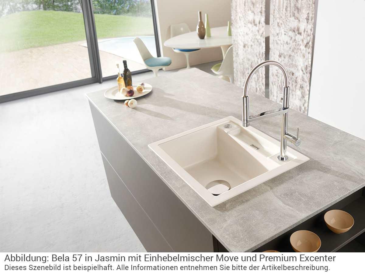 Full Size of Systemceram Bela 57 Polar Keramik Sple Handbettigung Küche Ohne Hängeschränke Ikea Miniküche Oberschränke Deckenleuchten Doppel Mülleimer Waschbecken Bad Küche Keramik Waschbecken Küche