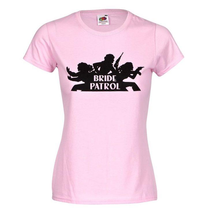 Medium Size of Jga Shirt Bride Patrol In Rosa Coole T Shirt Sprüche Wandtattoo T Lustige Jutebeutel Junggesellenabschied Junggesellinnenabschied Bettwäsche Wandtattoos Küche Junggesellenabschied T Shirt Sprüche