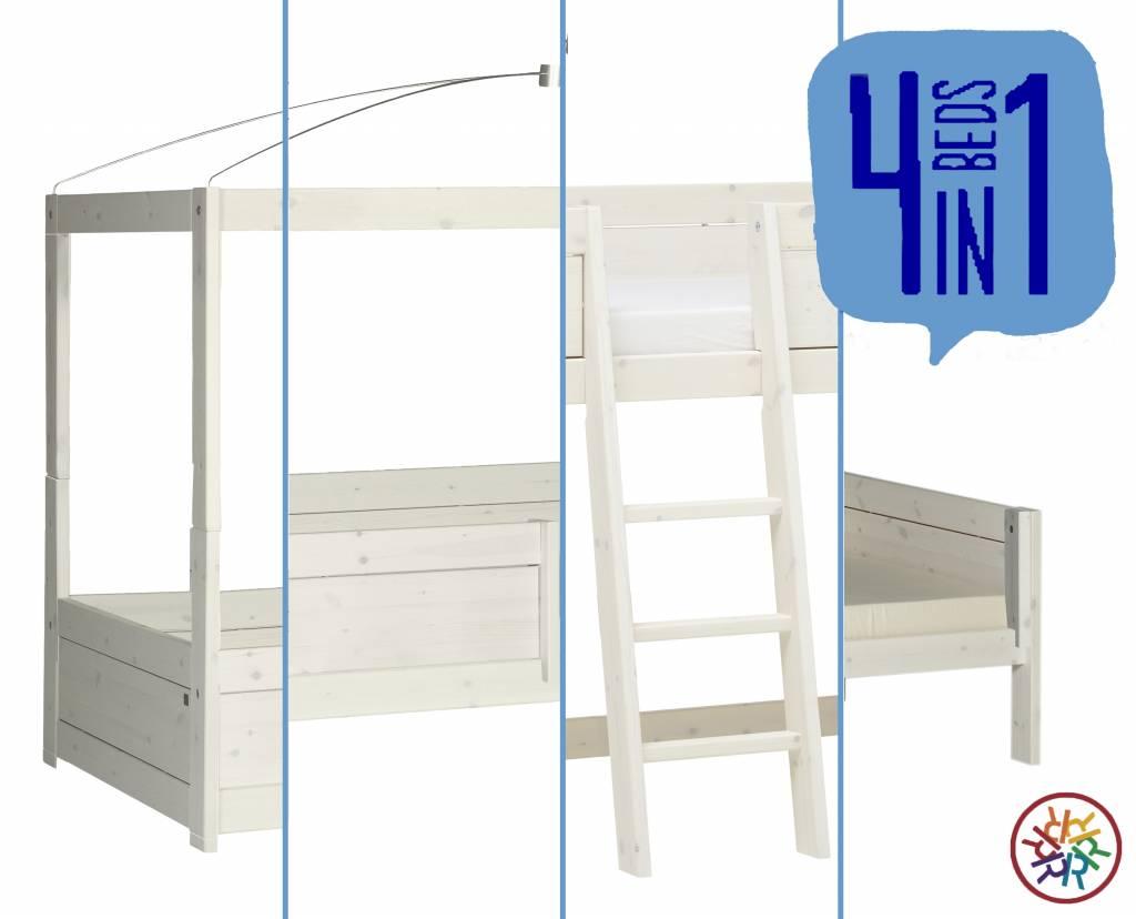 Full Size of Lifetime Bett 4 In 1 Kombination Whitewash Hülsta Möbel Boss Betten Aus Holz 200x220 Schlicht Oschmann 90x200 Mit Beleuchtung Kopfteil Weißes 160x200 Bett Lifetime Bett
