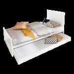 Rhr Bush Kinderbett Wei Liegenbett Ausziehbar Jugendzimmer Bett 120x200 Mit Matratze Und Lattenrost 140x200 Betten Günstig Kaufen Bette Duschwanne Münster Bett Ausziehbares Bett