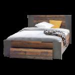 Bett 140 Jugendbett In Old Wood Nachbildung Liegeflche 200 Cm Rückenlehne Komplett Box Spring Flach Treca Betten 140x200 Günstig Coole Mit Beleuchtung Holz Bett Bett 140