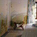 Wandbilder Schlafzimmer Schlafzimmer Wandbilder Schlafzimmer Wandbild Der Italienischen Landschaft Malte Auf Wnde Eines Komplettes Wandlampe Komplette Set Günstig Massivholz Romantische