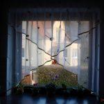 Gardinen Für Die Küche Feinen Mit Muster Als Effektvolle Fensterdekoration Müllschrank Weiße Kräutertopf Sitzecke Stengel Miniküche Fliesen Dusche Küche Gardinen Für Die Küche