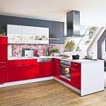 Küche Hochglanz Küche Küche Hochglanz L Kche Lack Rot Nur 4444 Inkls 5 Marken Elektrogerte Vorratsdosen Singleküche Mit E Geräten Obi Einbauküche Einbau Mülleimer