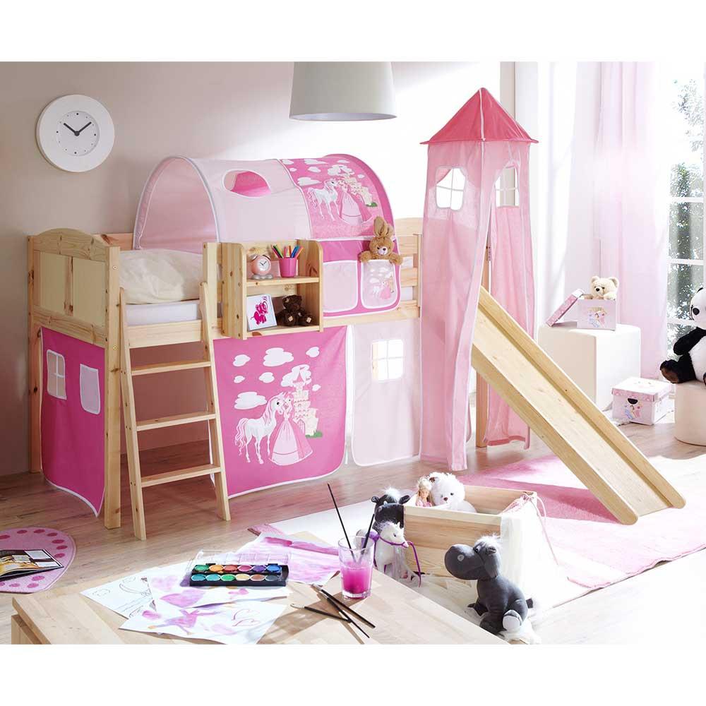 Full Size of Prinzessin Bett Estella In Pink Und Rosa Aus Kiefer Massivholz Betten Modernes 180x200 Gebrauchte Rattan Komplett Mannheim überlänge Wildeiche Tatami Metall Bett Prinzessin Bett