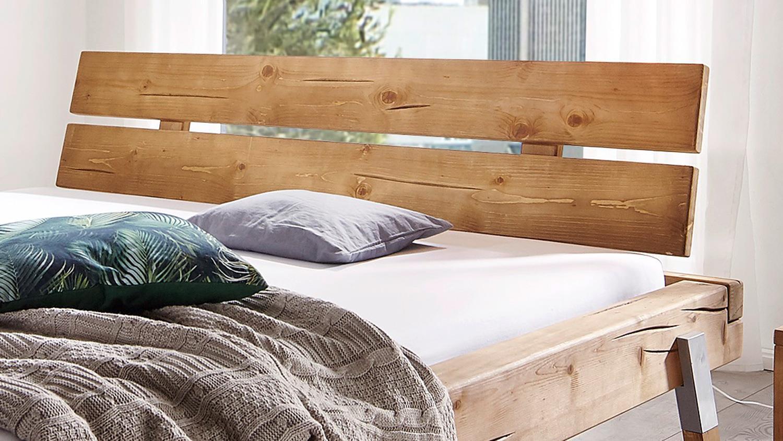 Full Size of Bett Ohne Füße Balkenbett Gojo Fichte Massiv Eichefarbig Fe Alu Lack 180x200 2x2m Musterring Betten Einfaches Stauraum 200x200 Bambus Schöne Amerikanisches Bett Bett Ohne Füße