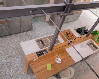 Küche Bauen Küche Küche Bauen Eiche Hell Bodenfliesen Wandregal Finanzieren Laminat Für Led Beleuchtung Was Kostet Eine Mit E Geräten Günstig Teppich Landhausküche Grau