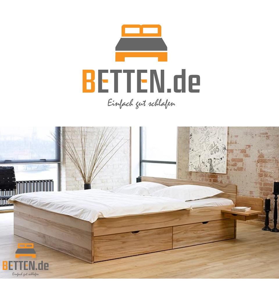 Betten De Logo Design Fr Den Online Shop Bettende Günstige 140x200 Boxspring Dusche Bodengleich Küche Modern Weiss Bade Dusch Kombi Sauna Im Badezimmer Bidet