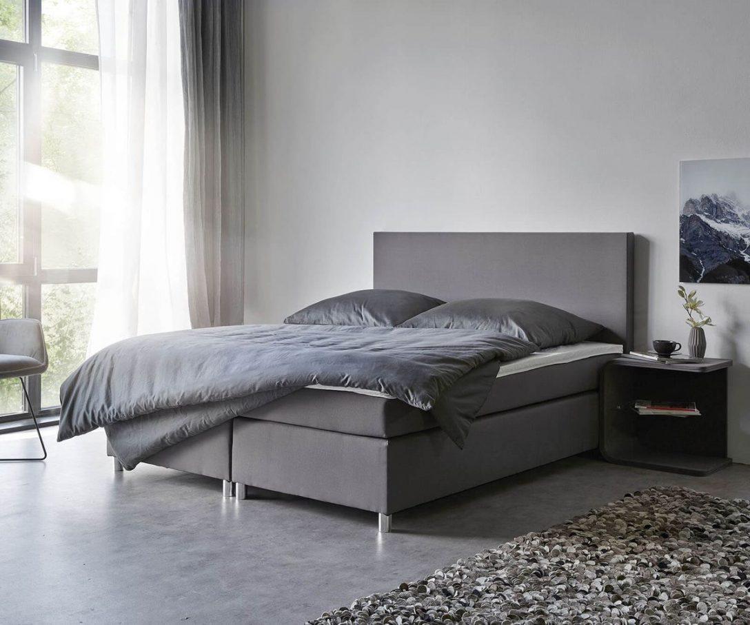 Large Size of Boxspringbett Cloud 160x200 Cm Grau Topper Und Matratze Mbel Außergewöhnliche Betten Billerbeck 180x200 Mädchen überlänge Französische Ikea Bett Mit Bett Betten 160x200
