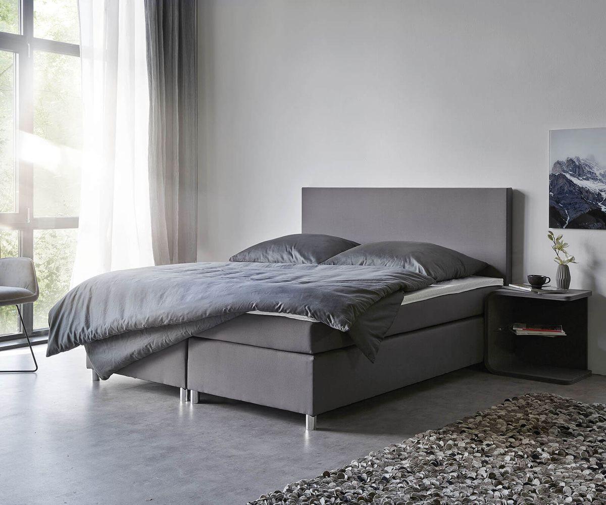 Full Size of Boxspringbett Cloud 160x200 Cm Grau Topper Und Matratze Mbel Außergewöhnliche Betten Billerbeck 180x200 Mädchen überlänge Französische Ikea Bett Mit Bett Betten 160x200
