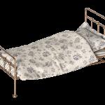 Maileg Bett Puppenbett Gold Bed Metallbett Gr M Skandinavisch Regal Metall Weiß Schwebendes Tojo V 160x200 Mit Lattenrost Und Matratze Jabo Betten 90x200 Bett Metall Bett