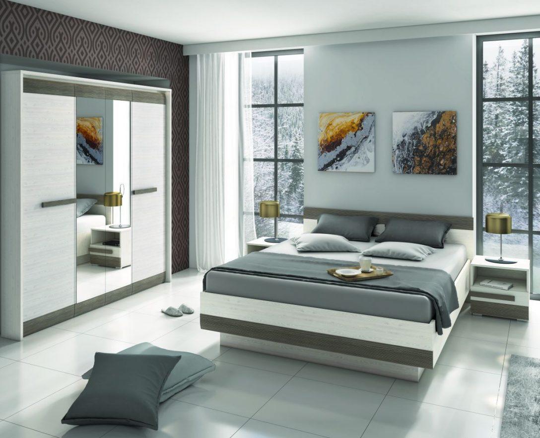 Large Size of Schlafzimmer Komplett Weiß Set G Knoxville Weiße Betten Bett 160x200 Regale Bad Hängeschrank Badezimmer Hochschrank Küche Matt 120x200 Sessel Nolte Schlafzimmer Schlafzimmer Komplett Weiß