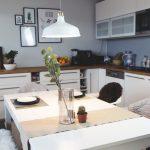 Deko Für Küche Unsere Wohnkche Ein Ort Zum Kochen Vinylboden Bodenbelag Weisse Landhausküche Aufbewahrung Kreidetafel Teppich Ikea Miniküche Spülbecken Küche Deko Für Küche