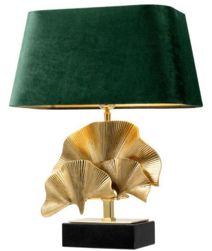 Medium Size of Casa Padrino Luxus Tischleuchte Messingfarben Schwarz Grn 41 Heizkörper Wohnzimmer Vorhänge Led Beleuchtung Deko Deckenlampe Sideboard Relaxliege Hängelampe Wohnzimmer Tischlampe Wohnzimmer