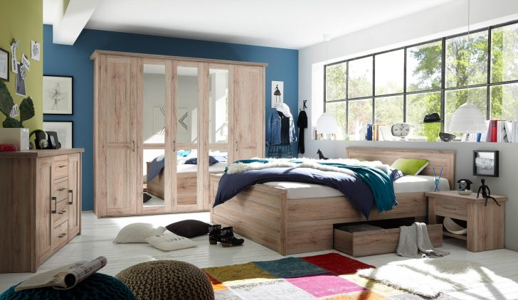 Medium Size of Schlafzimmer Set Günstig Luca 1 Komplettset Bett Kleiderschrank Pinie Wei Günstiges Rauch Sofa Kaufen Landhaus Landhausstil Kommode Einbauküche Wandleuchte Schlafzimmer Schlafzimmer Set Günstig