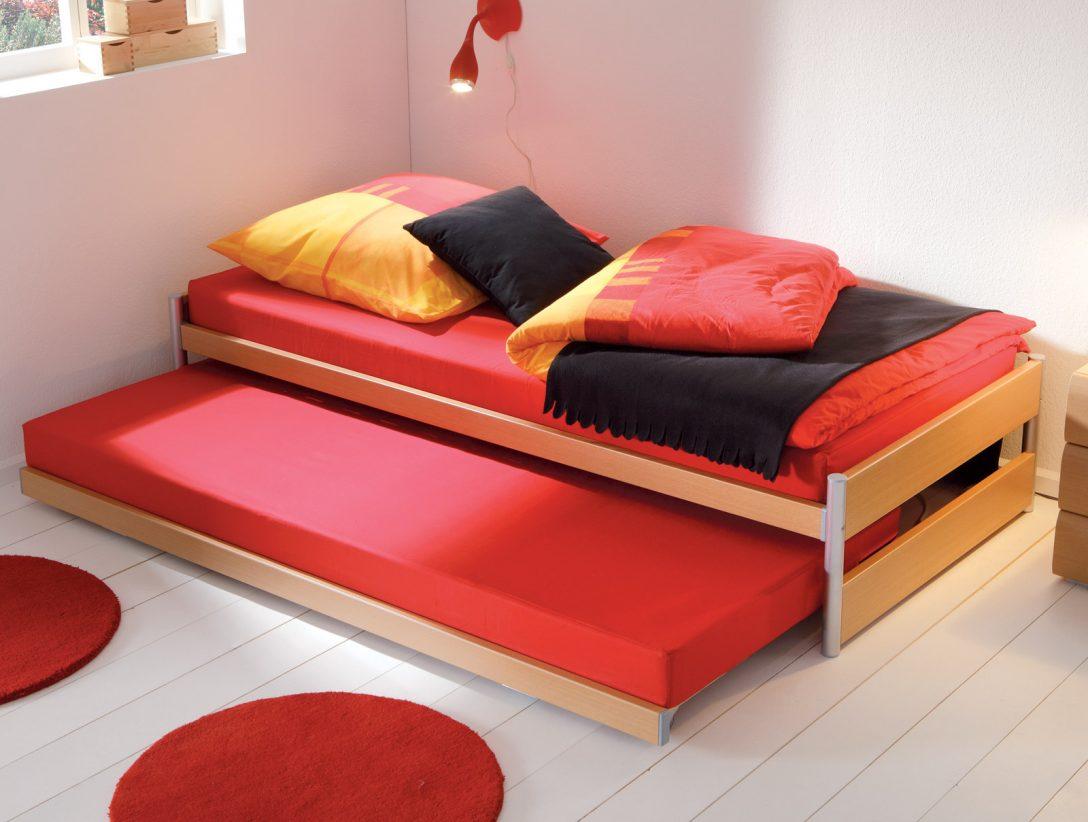 Large Size of Gnstiges Ausziehbett Mit Zwei Liegeflchen Louis Bettende Bett Betten.de