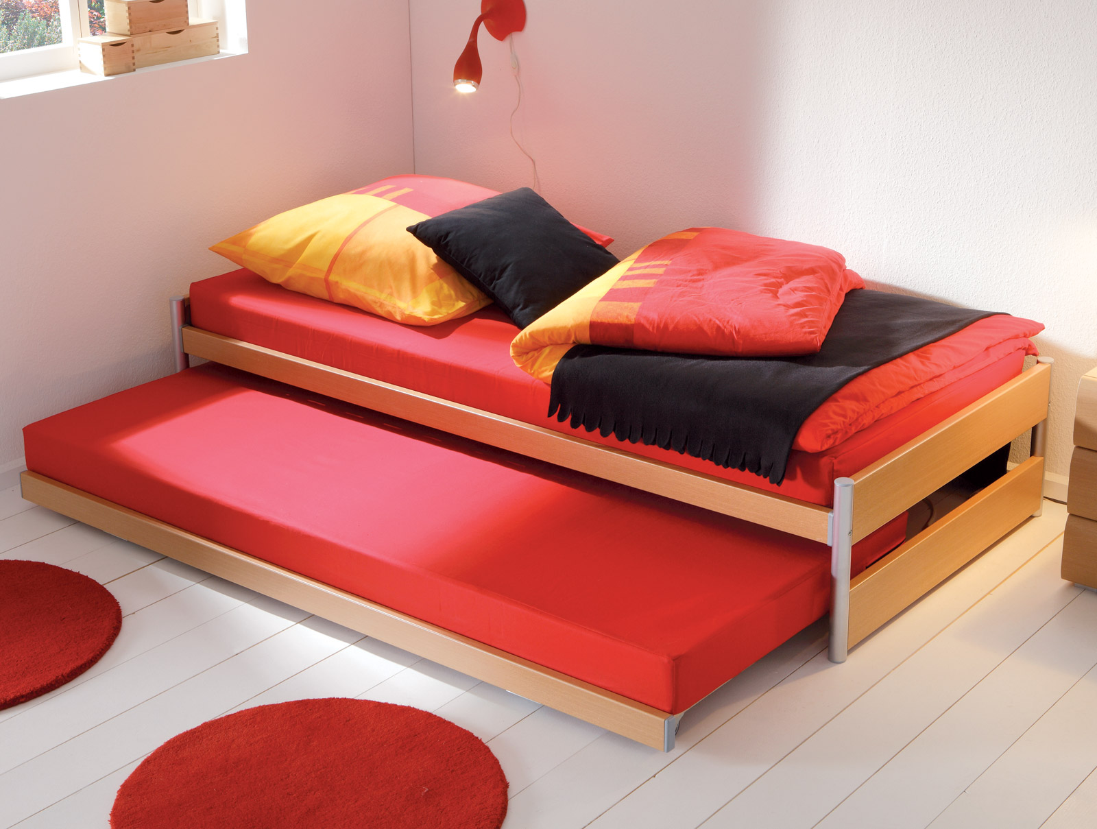 Full Size of Gnstiges Ausziehbett Mit Zwei Liegeflchen Louis Bettende Bett Betten.de