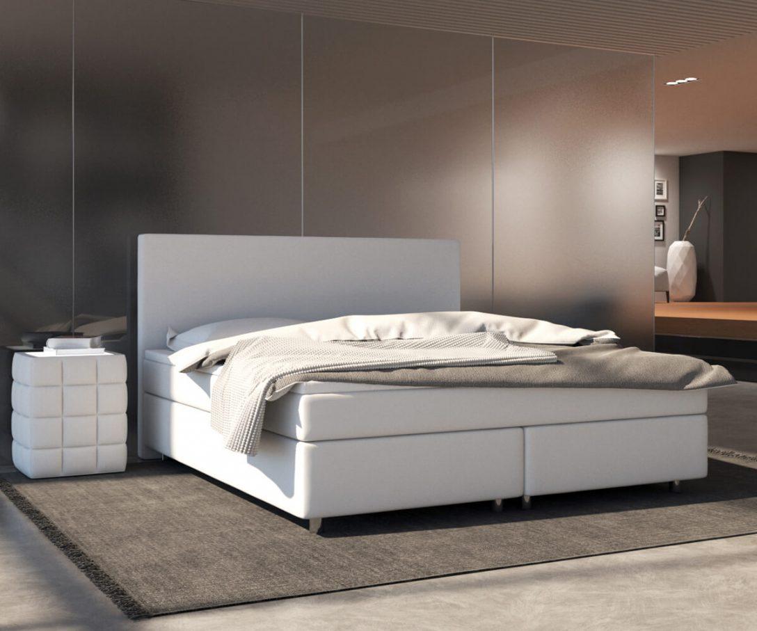 Large Size of Luxus Bett Boxspringbett Cloud 140x200 Cm Weiss Topper Und Matratze Mbel 180x200 Mit Lattenrost Oschmann Betten Französische Mädchen Wasser Für Teenager Bett Luxus Bett