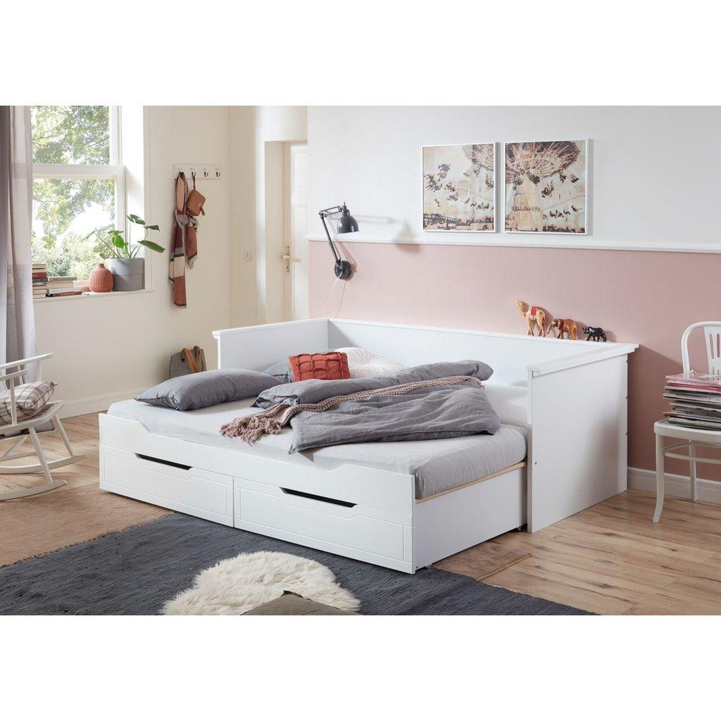 Full Size of Bett Schwarz Weiß 90x200 200x200 Komforthöhe Günstiges Betten Test Mit Schubladen Bette Badewannen Modernes Stauraum Außergewöhnliche Schlafzimmer Bett Ausziehbares Bett
