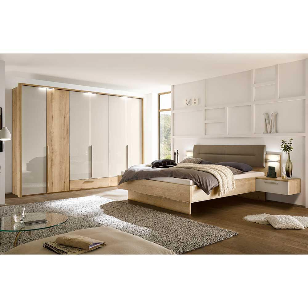 Full Size of Schlafzimmer Set Grandesco In Hellgrau Glanz Und Eiche Dekor Modern Regal Günstig Deckenlampe Led Deckenleuchte Betten Kaufen Esstisch Günstige 140x200 Schlafzimmer Schlafzimmer Set Günstig