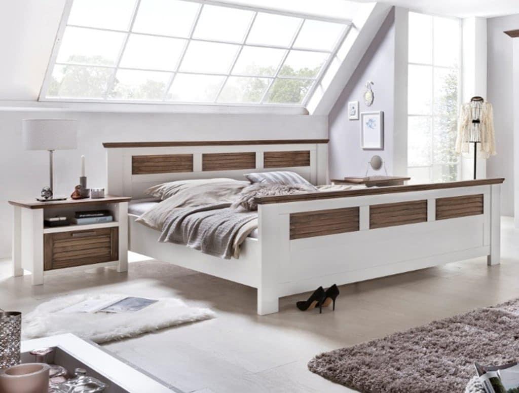 Full Size of Bett Landhausstil Doppelbett Casa Pinie Weiss 180x200cm Am Lager Verfgbar Pick Up Mbel Schlafzimmer Tempur Betten 120x200 Hunde Mit Stauraum Bettkasten 160x200 Bett Bett Landhausstil