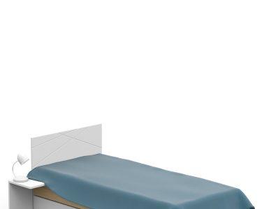 Bett 120x190 Bett Bett 120x190 Oak Meblik Balinesische Betten Kopfteile Für Im Schrank Massiv Topper Schwarz Weiß Nussbaum Schlafzimmer Set Mit Boxspringbett Flexa Bettwäsche