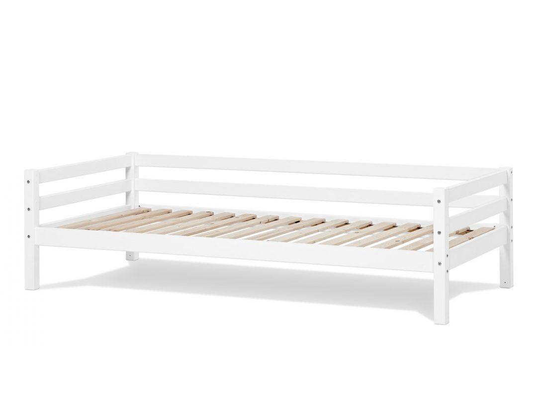 Large Size of Bett Weiß 90x200 Kinderbett In Kiefer Massiv Betten Mit Schubladen Rauch Für übergewichtige Bettkasten Weißes Regal Prinzessin 180x200 100x200 Billerbeck Bett Bett Weiß 90x200