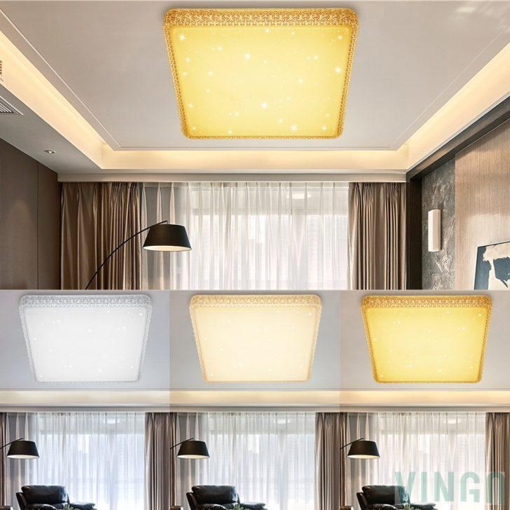 Medium Size of Vingo 60w Led Deckenlampe Dimmbar Starlight Effekt Schlafzimmer Komplett Günstig Wohnzimmer Wandtattoo Vorhänge Küche Sessel Deckenleuchte Deckenlampen Für Schlafzimmer Deckenlampe Schlafzimmer