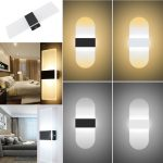 Schlafzimmer Wandlampe Dimmbar Modern Wandleuchte Wandlampen Schwenkbar Led Design Holz Ikea Mit Leselampe Schalter Innen 3 18w Effektlampe Flurleuchte Set Schlafzimmer Schlafzimmer Wandlampe