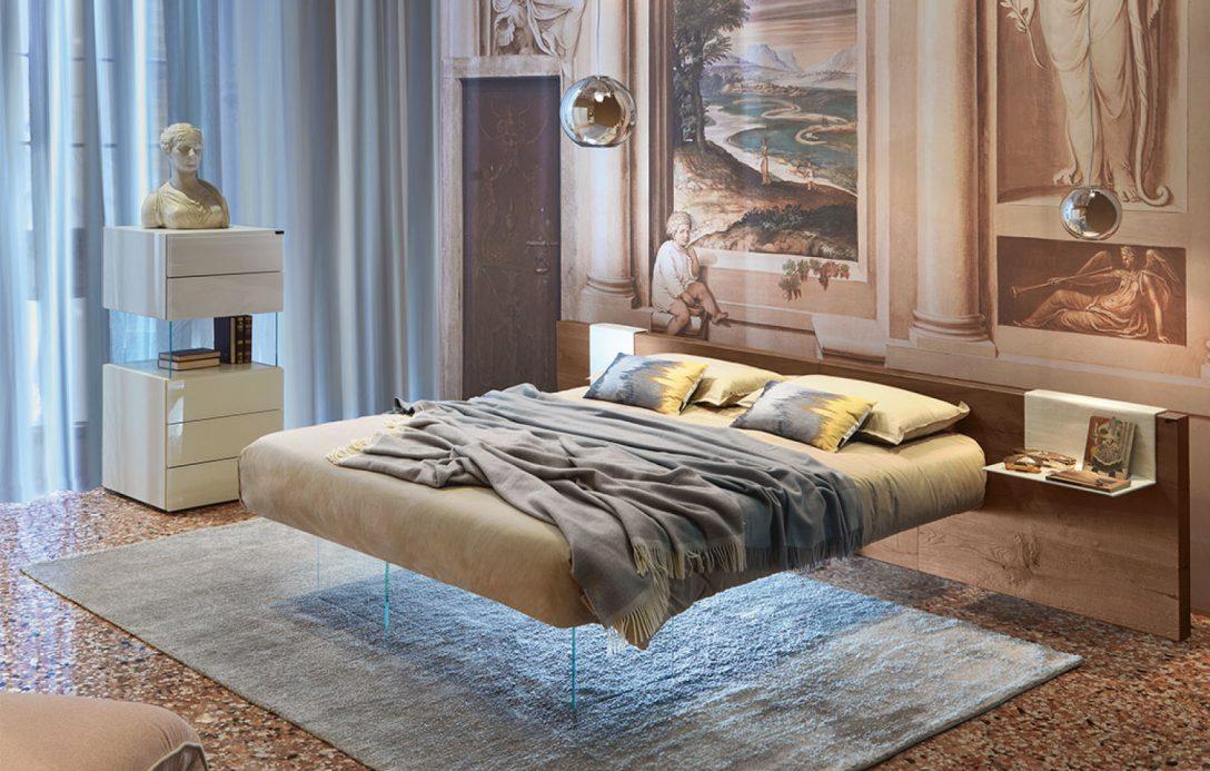 Large Size of Schwebendes Designerbett Air Wildwood Von Lago Italia Bette Floor Meise Betten Bett 140x220 Flexa 160x200 Mit Lattenrost Und Matratze Somnus Kopfteil 140 Ebay Bett Schwebendes Bett