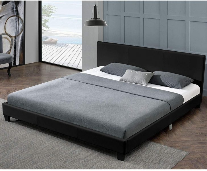Medium Size of Bett Ohne Füße Juskys Polsterbett Barcelona 140 200 Cm Schwarz Mit Schreibtisch Einfaches Betten Bettkasten Krankenhaus Ausziehbett Schubladen Komplett Bett Bett Ohne Füße