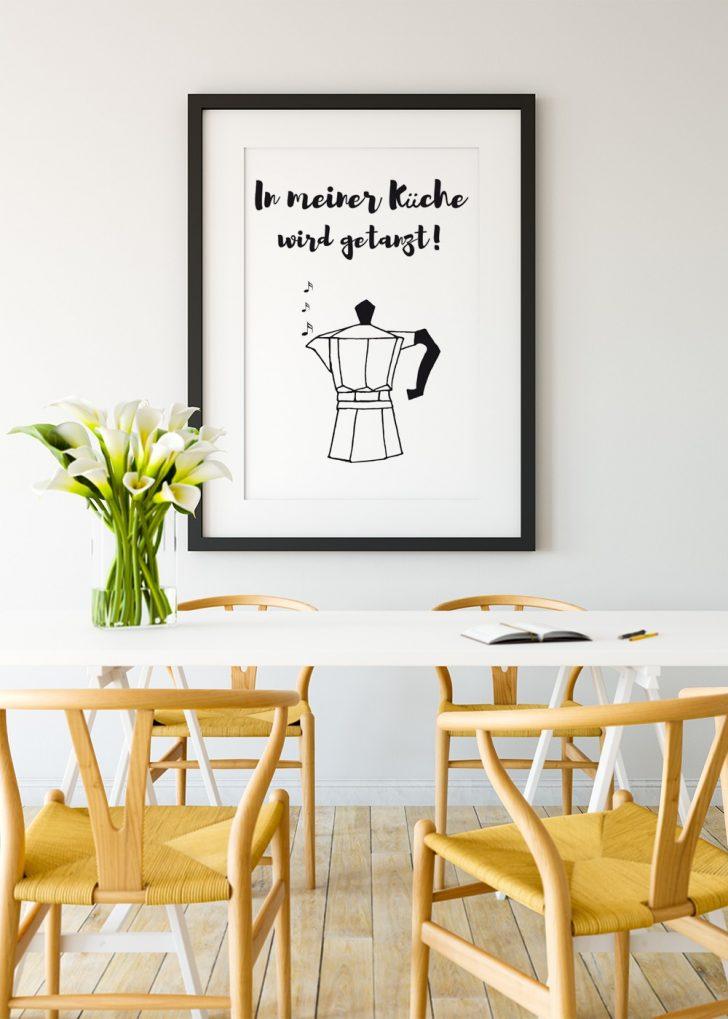 Medium Size of Sprüche Für Die Küche In Meiner Kche Poster Online Kaufen Ulrike Wathling Anthrazit L Mit Kochinsel Wandsprüche Bettwäsche Eckbank Folien Fenster Küche Sprüche Für Die Küche