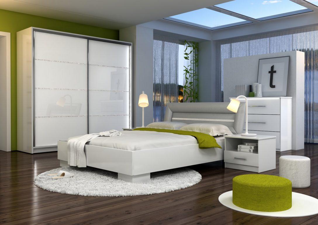 Large Size of Komplette Schlafzimmer Sets Malaga Gaja Kchen Shop Vorhänge Schranksysteme Wandleuchte Set Weiß Sessel Deckenleuchte Modern Regal Mit überbau Komplett Schlafzimmer Komplette Schlafzimmer
