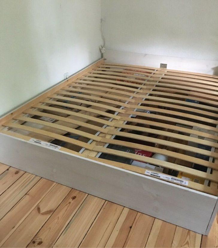 Medium Size of Bett 160x200 Mit Lattenrost Holz Wei Lackiert Selbst Gebaut Lattenroste In Küche Kaufen Elektrogeräten Betten Matratze Und 140x200 Paletten Bettkasten Bett Bett 160x200 Mit Lattenrost