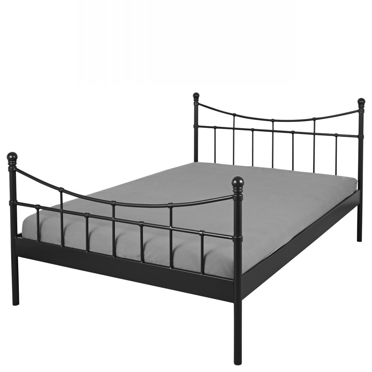 Full Size of Bett Doppelbett Ramona 180x200 Schwarz Bettgestell Metall Ausziehbar Betten überlänge Antik Teenager Liegehöhe 60 Cm Dormiente Mit Unterbett Mädchen Cars Bett Bett Metall