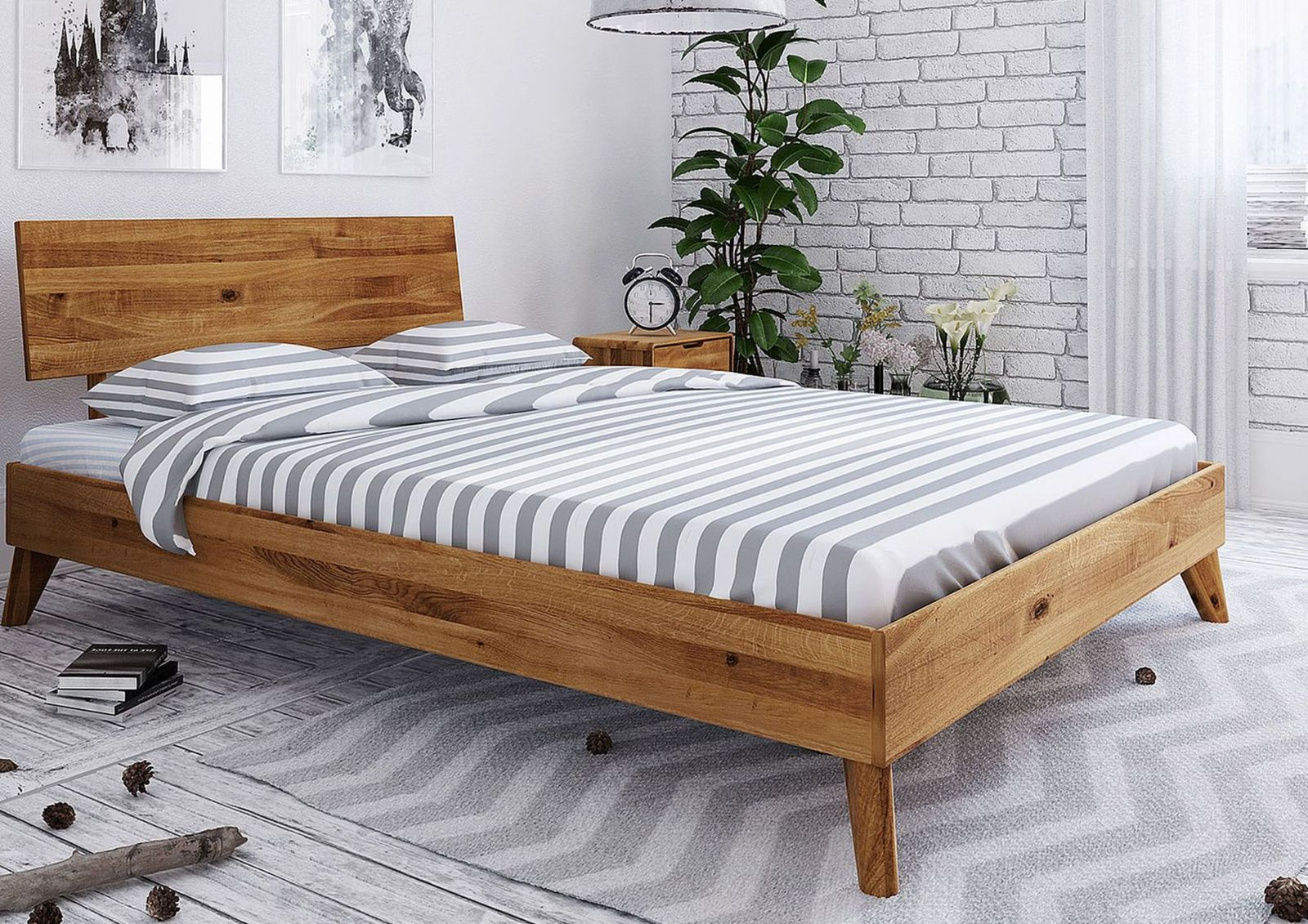Full Size of Bett Günstig Skandinavisches Versandfrei Kaufen Massivmoebel24 Kinder Betten Weißes Futon 100x200 Küche Wildeiche Altes 200x180 Komplett Schlafzimmer Bett Bett Günstig