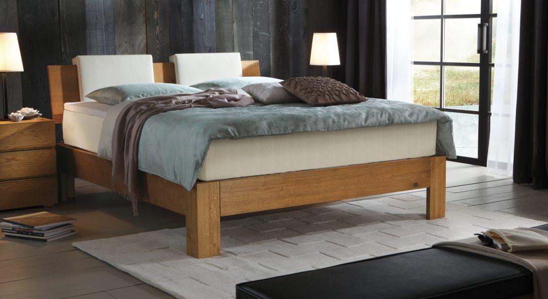 Large Size of Boxspringbett Kingston Aus Massivholz In Eiche Bettende Bett Betten.de
