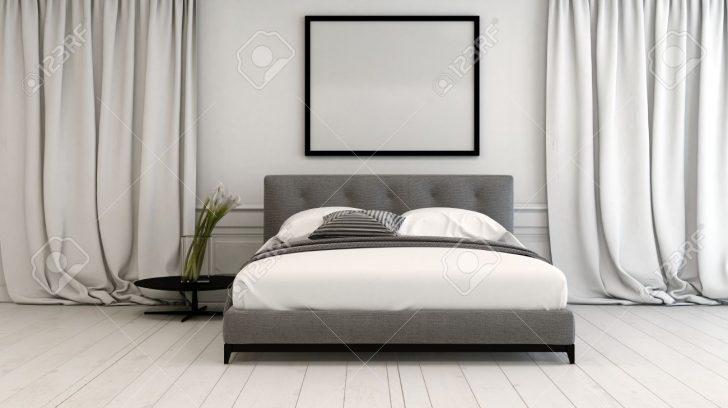 Medium Size of Innenraum Schlafzimmer In Neutralen Tnen Mit Einem Romantische Massivholz Set Nolte Betten Led Wohnzimmer Vorhänge Landhausstil Wandtattoo Lampen Küche Schlafzimmer Vorhänge Schlafzimmer