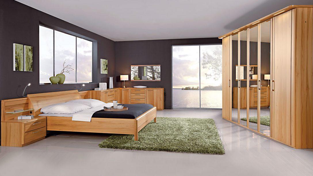 Large Size of Schlafzimmerkombination Mit Wohlfhlcharakter Interliving Gleiner Komplett Schlafzimmer Günstig Kommoden Komplette Küche Günstige Wandleuchte Eckschrank Schlafzimmer Schlafzimmer Komplett Massivholz