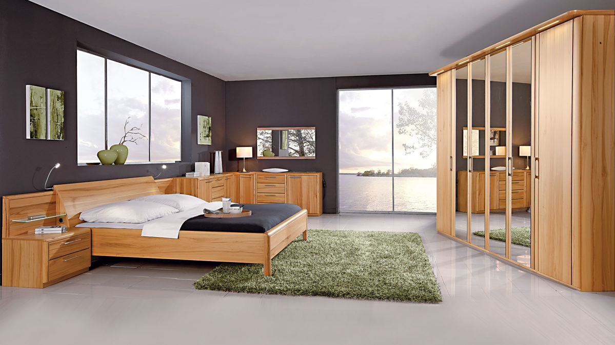 Full Size of Schlafzimmerkombination Mit Wohlfhlcharakter Interliving Gleiner Komplett Schlafzimmer Günstig Kommoden Komplette Küche Günstige Wandleuchte Eckschrank Schlafzimmer Schlafzimmer Komplett Massivholz