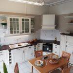 Landhausküche Küche Landhausküche Musterkchen Landhauskche Mit Lackierten Rahmenfronten Modell Moderne Weiß Gebraucht Grau Weisse