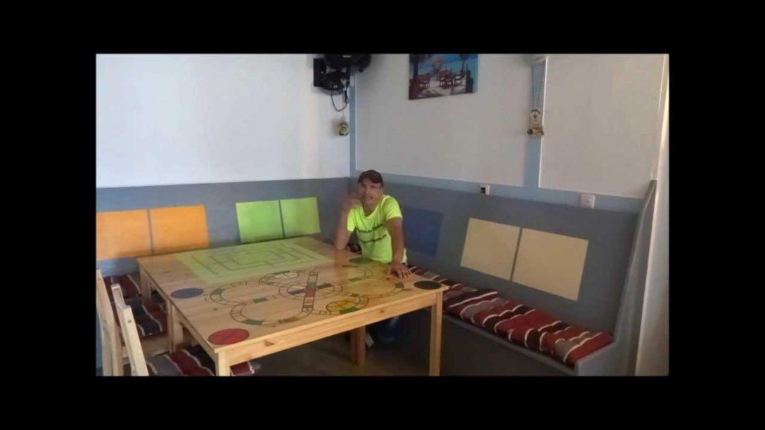 Large Size of Sitzecke Fr Kche Selber Bauen Youtube Küche Mit Kochinsel Poco Kleine Einbauküche Wanduhr Rollwagen Hängeschrank Glastüren Salamander Selbst Küche Küche Sitzecke