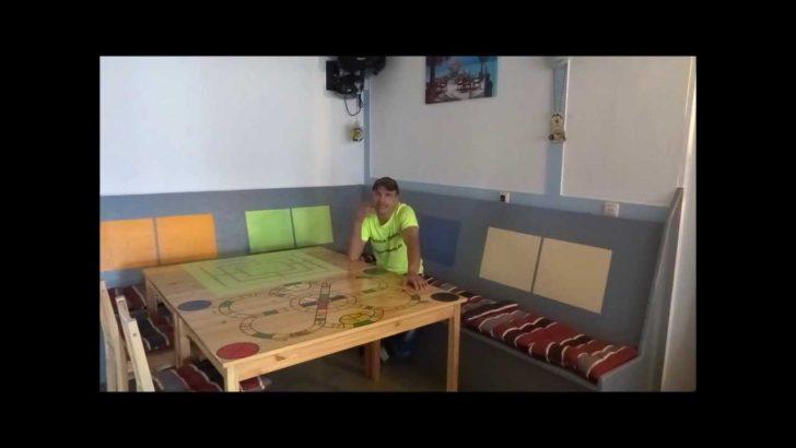 Medium Size of Sitzecke Fr Kche Selber Bauen Youtube Küche Mit Kochinsel Poco Kleine Einbauküche Wanduhr Rollwagen Hängeschrank Glastüren Salamander Selbst Küche Küche Sitzecke