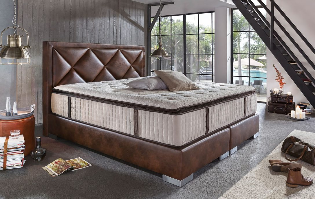 Large Size of Amerikanische Betten Boxspringbett Joker Deluxe Braun Luxusschlafzimmer Mannheim Rauch Kaufen Balinesische 180x200 München Schöne Tagesdecken Für Bett Amerikanische Betten