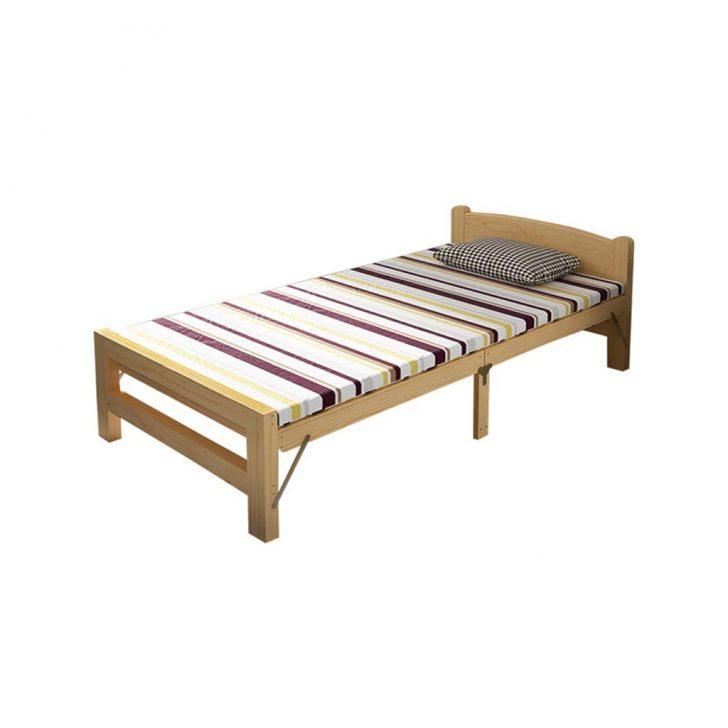 Medium Size of Einfaches Bett Guanbed Klappbett Aus Massivem Holz Einzelbett Fr Den Haushalt Gebrauchte Betten 180x200 Mit Lattenrost Und Matratze Selber Bauen Boxspring 140 Bett Einfaches Bett